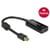 Delock mini Displayport 1.2 male naar HDMI female 4K Adapter