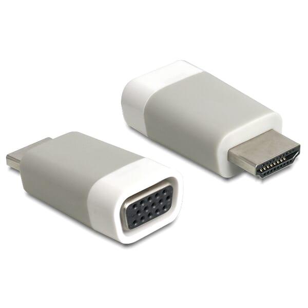 Delock HDMI naar VGA Vrouwelijk Adapter