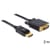 Delock Cable Displayport 1.2 male to DVI 24+1 male 2 m