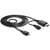 Delock Cable MHL male > High Speed HDMI male + USB-micro B f