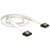 Delock Cable SATA FLEXI 6 Gb/s 50 cm white metal
