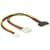 Delock Cable Y- Power SATA male 15 pin > 4 pin Molex female