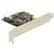 Delock PCI Express Card > 2 x internal SATA 3 Gb/s + Raid