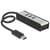 Delock USB 3.0 External Hub 3 port + 1 slot SD Card Reader