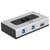 Delock Switch USB 3.0 2 port manual bidirectional