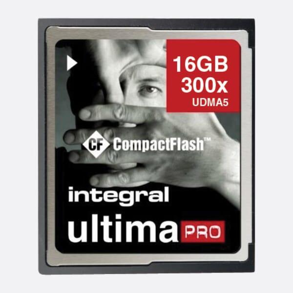Integral 16GB Compact Flash Geheugenkaart UltimaPro 300x