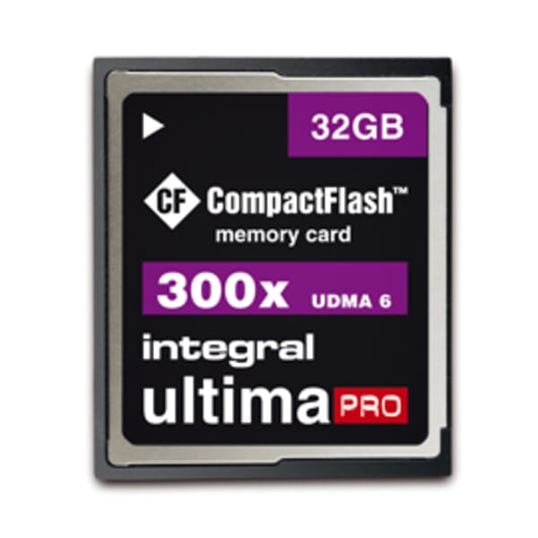 Integral UltimaPro 32GB Compact Flash Kaart