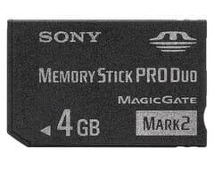 Sony Speicherstick DUO PRO 4GB
