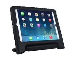 Sturzsichere Schutzhülle mit Ständer für iPad Air 2/ Pro in schwarz