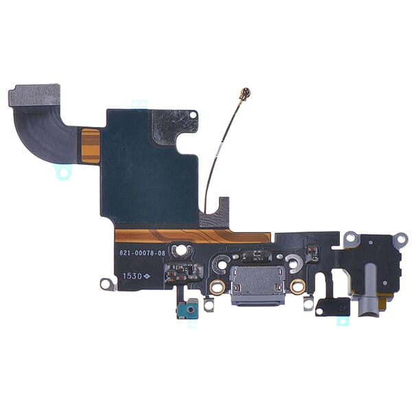 Laadpoort Zilver voor iPhone 6s