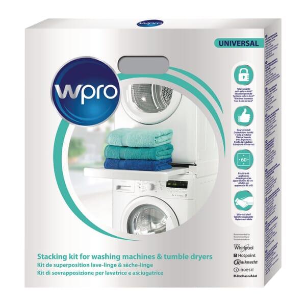 Whirlpool Universele stapelkit met lade en safe-in-lock voor Pitsos WTP60100/30