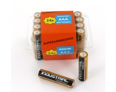 Duracell Industrial Alkaline AAA boxje 24