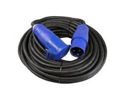 Blu-Basic CEE kabel 20 meter zwart