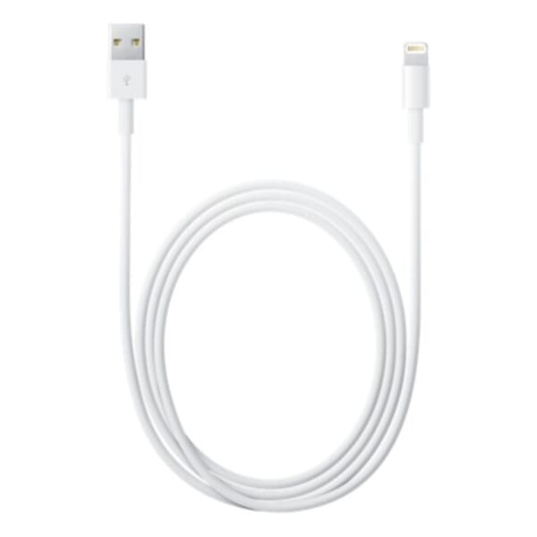 Apple Cable Lightning to USB 2m White voor Toshiba Satellite L670D-120