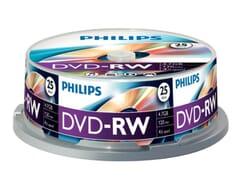 Philips DVD-RW 4-Speed 4.7GB 25 Stuks Spindel