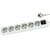 Blu-Basic Stekkerdoos 3 meter 6-voudig wit Schakelaar
