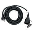 Câble Blu-Basic 5 mètres néoprène noir H07