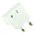 Blu-Basic Travel Plug America to Europe - White
