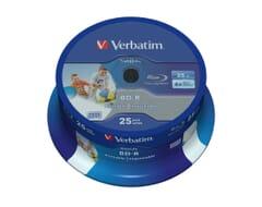 Verbatim BD-R Single Layer 6X 25GB