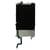 iPhone 6 Plus LCD achterkant plaat met warmte schild + home knop Ex