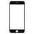 Glas Scherm Zwart voor iPhone 6 Plus