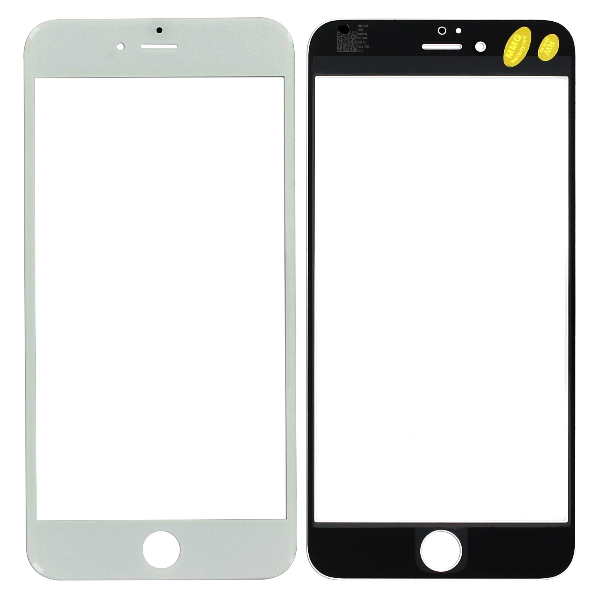 iphone 6 plus glass lens weiss voor apple iphone 6 plus. Black Bedroom Furniture Sets. Home Design Ideas
