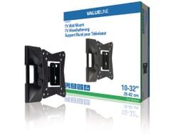 Valueline TV-Wandhalterung dreh- und schwenkbar 10-32 Zoll
