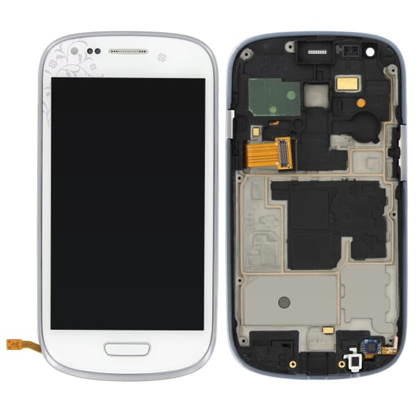 samsung galaxy s3 mini ve lcd digitizer assembly white. Black Bedroom Furniture Sets. Home Design Ideas