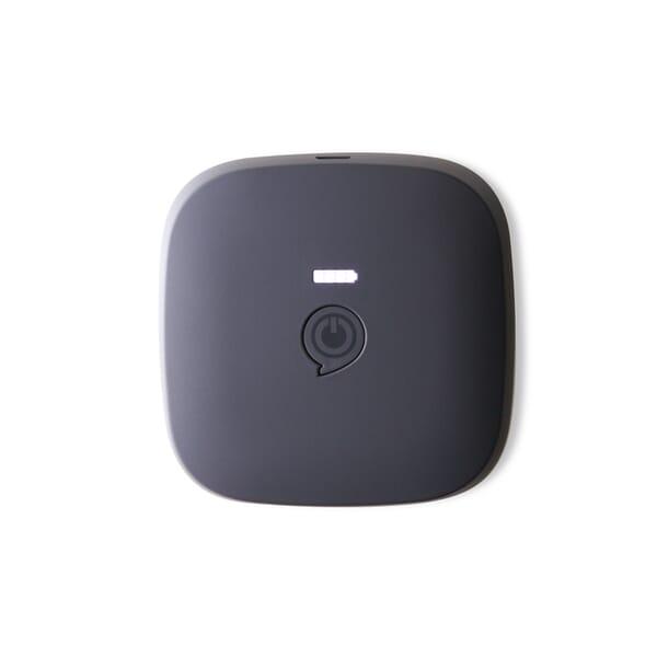 ZENS Qi Draadloos Oplaadbare Powerbank 10400mAh - Zwart
