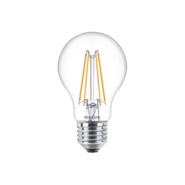 Philips Classic LED Bulb ND 7-60W A60 E27 827 CL
