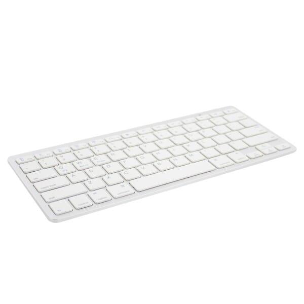Ewent Ultradun Bluetooth Toetsenbord US - Wit voor Toshiba Satellite L670D-120