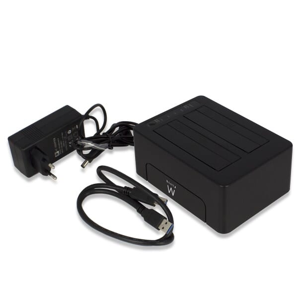 Ewent Dual Docking Station USB3.0 voor 2.5/3,5Inch HDD/SSD