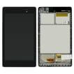 Nexus 7 (2013) LCD w/ Voorkant behuizing Wifi - Zwart voor Asus Google Nexus 7 (2013) ME571K