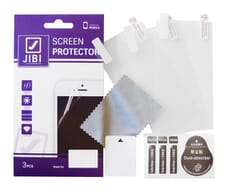 Jibi Screen Protector 3-stuks/set voor Galaxy S7 Edge