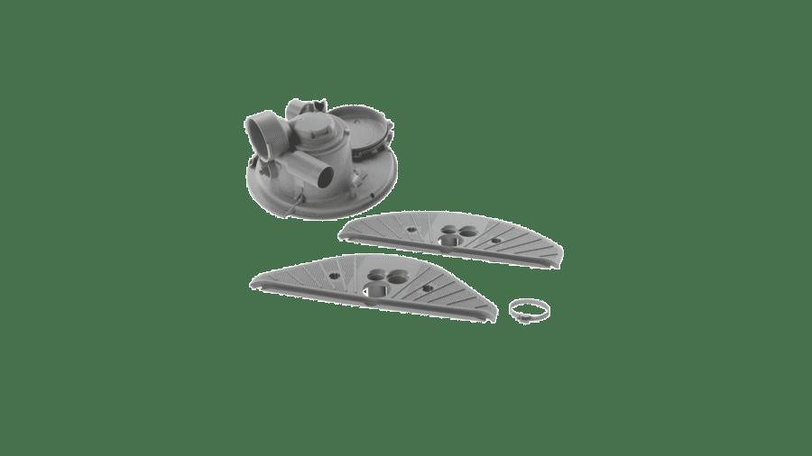 Bosch Kühlschrank Dichtungsgummi : Bosch siemens reparatursatz pumpentopf kpl mit abdeckung