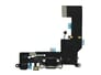 iPhone 5S oplaad poort Flex kabel met Koptelefoon ingang - Zwart