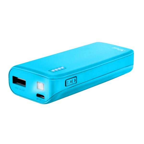 Trust Primo Powerbank 4400mAh - Neon Blauw voor Everex Neon E900