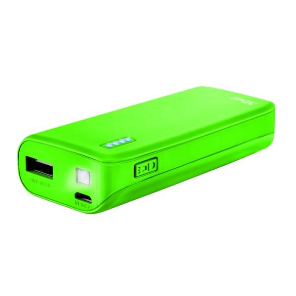 Trust Primo Powerbank 4400mAh - Neon Groen