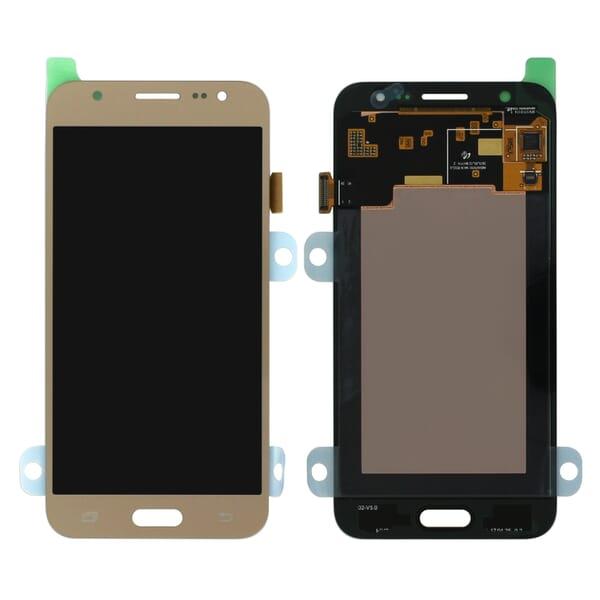 Samsung Galaxy J5 2015 LCD + Touchscreen - Goud