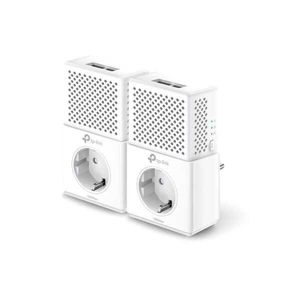 TP-Link AV1000 2-Poort Gigabit Powerline Starter Kit voor Dell Inspiron 15