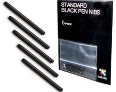 Wacom Standaard Pen Nibs 5-Pack - Zwart
