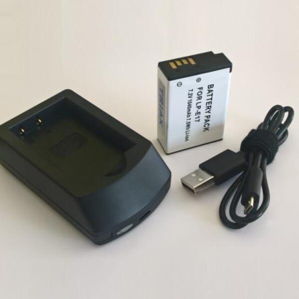 Digitalkamera Akku inklusive Ladegerät
