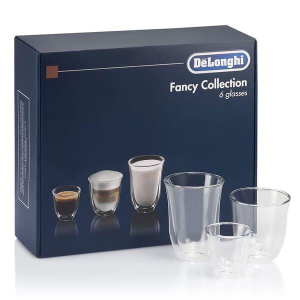 DeLonghi glazen (6 stuks)
