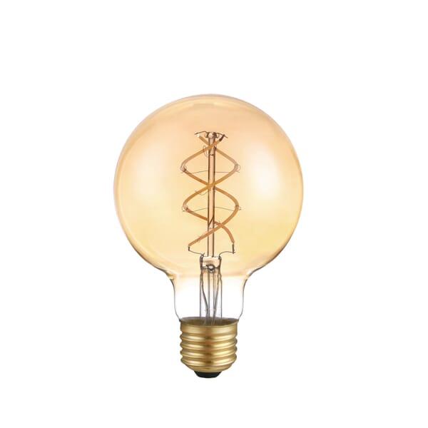 LEDs Light Filament lamp gedraaid E27 95 mm