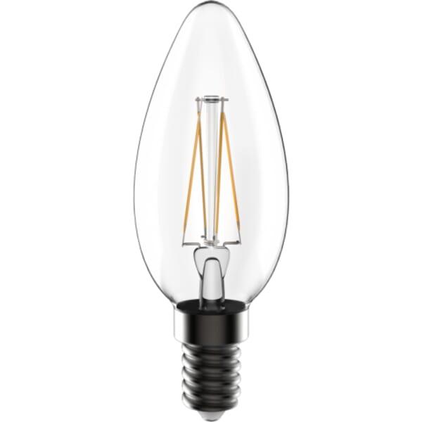 LEDs Light LED lamp filament C35 4W E14 helder