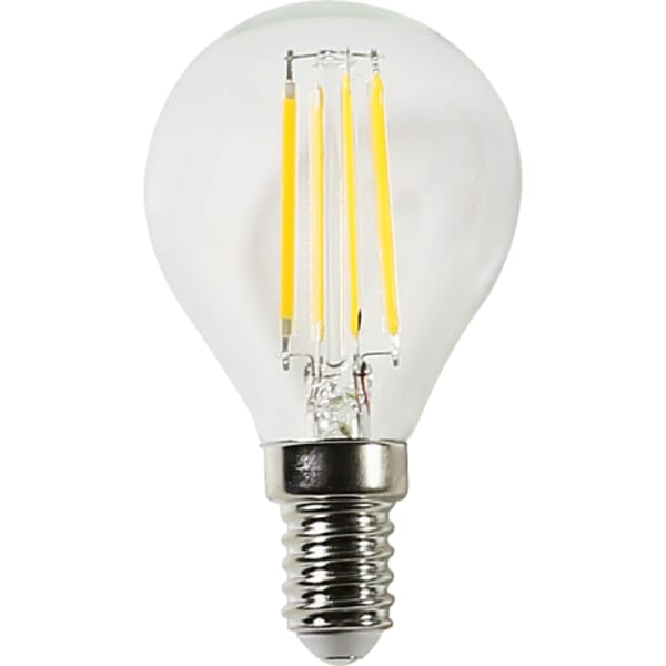 LEDs Light LED lamp filament 2700K G45 4W E14 470LM