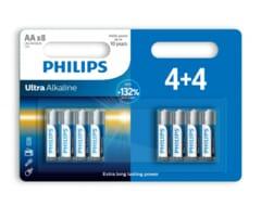 Philips Ultra Alkaline AA/LR6 blister 4+4