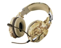 Trust GXT 322D Carus Over-Ear Gaming Headset - Desert Camo