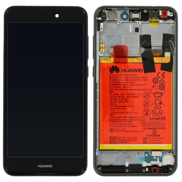 Huawei P8 Lite (2017) Scherm Assembly - Zwart