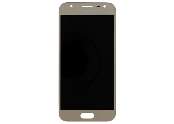 Samsung Galaxy J3 (2017) LCD + Touchscreen - Goud voor Samsung Galaxy J3 (2017) SM-J330F